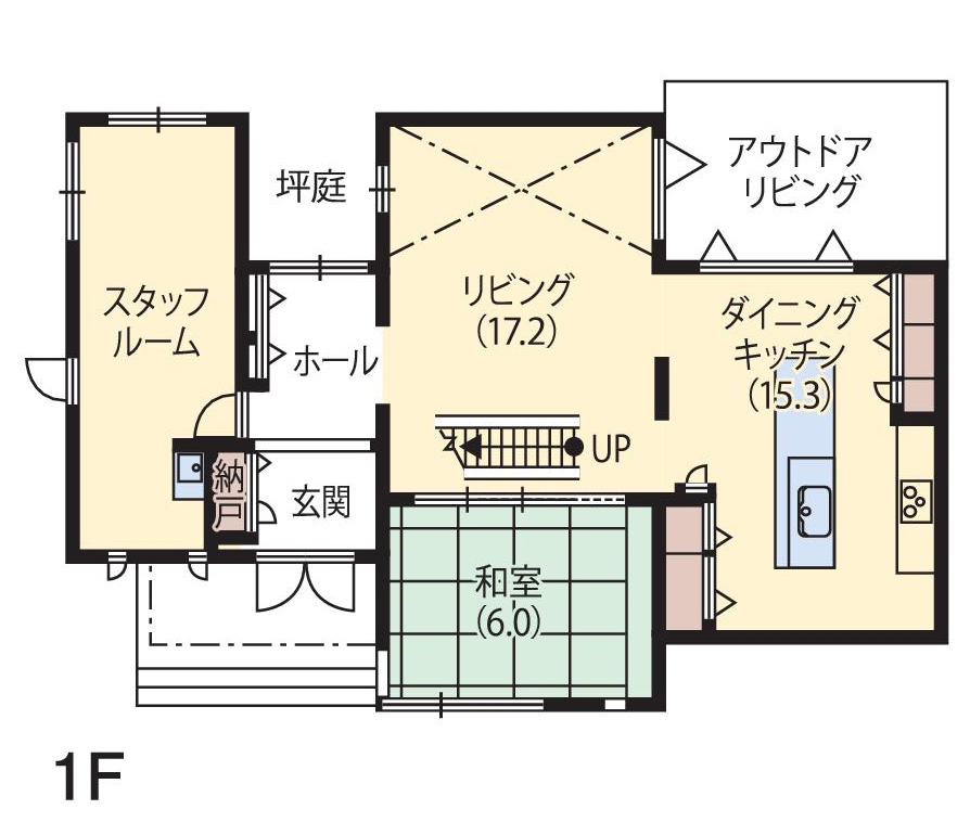 パワーモール前橋みなみ展示場(ハイムbj)間取り1F