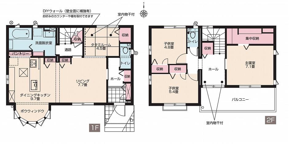 【分譲住宅・建売】スマートハイムシティ住吉ガーデン北 No.18(間取図)