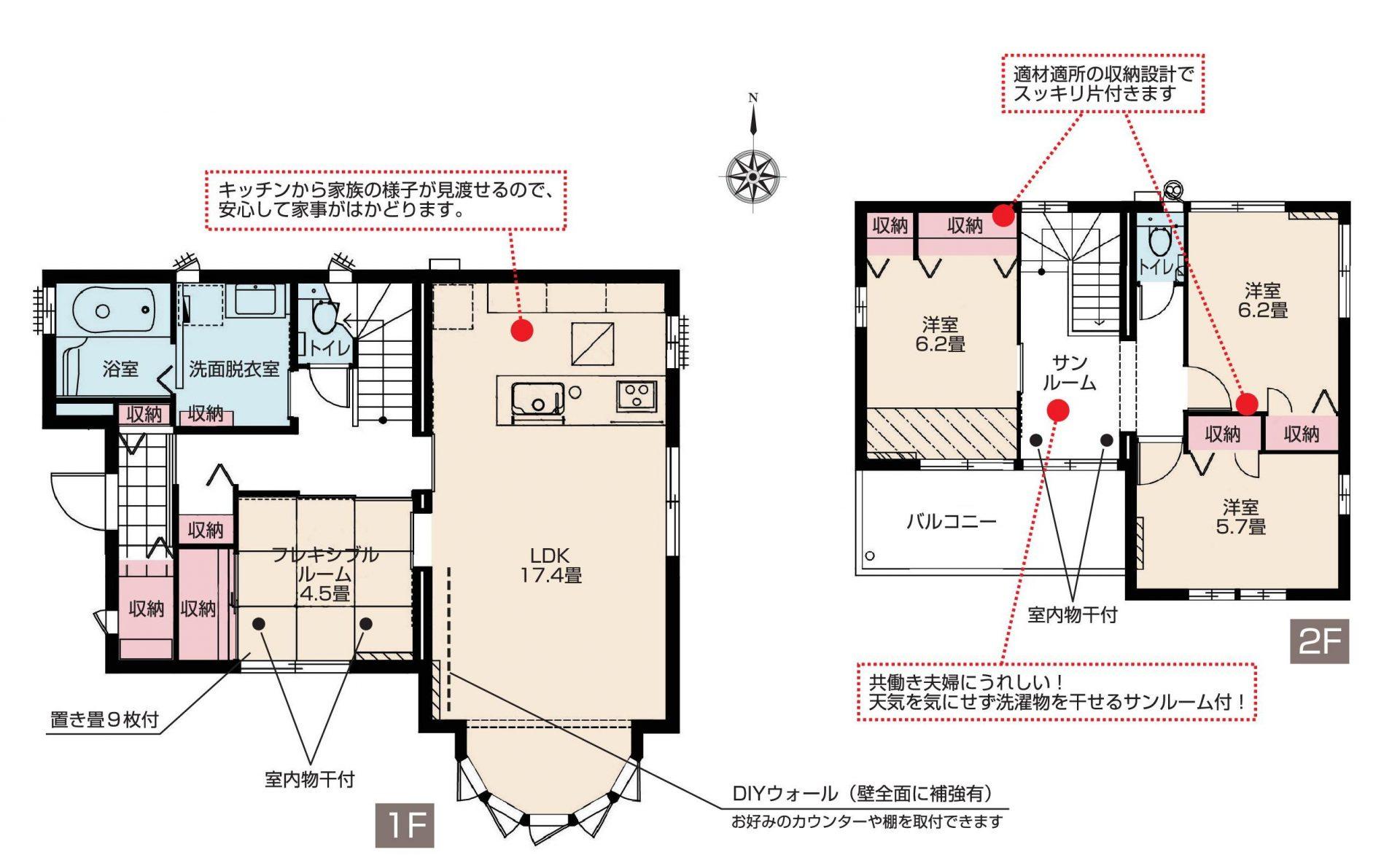 【分譲住宅・建売】スマートハイムシティ住吉ガーデン北 No.26(間取図)