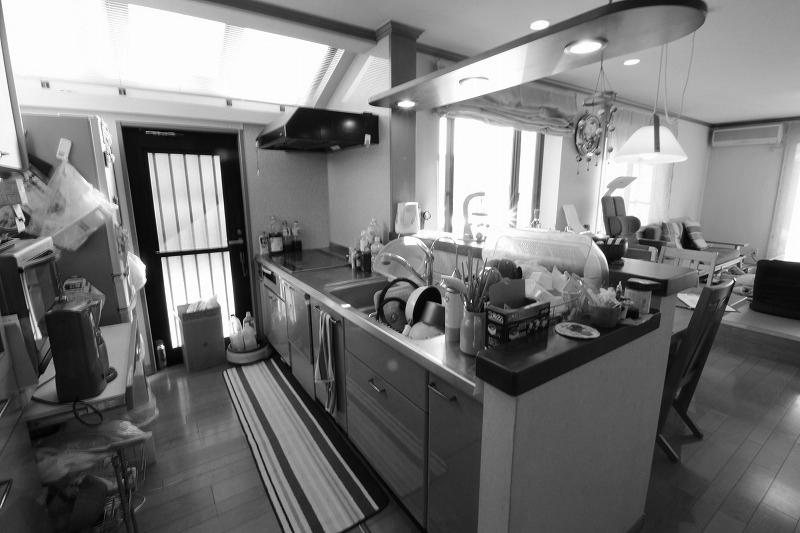 キッチンでの家事負担も軽減(before)