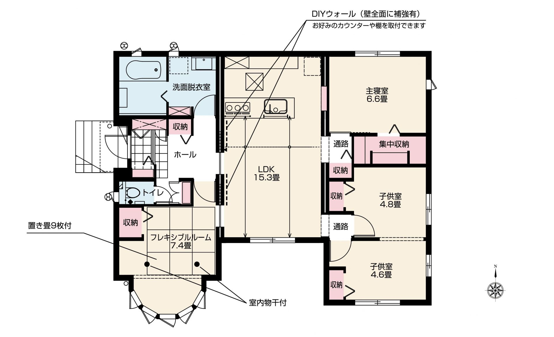 【分譲住宅・建売】スマートハイムシティ住吉ガーデン北 No.19(間取図)