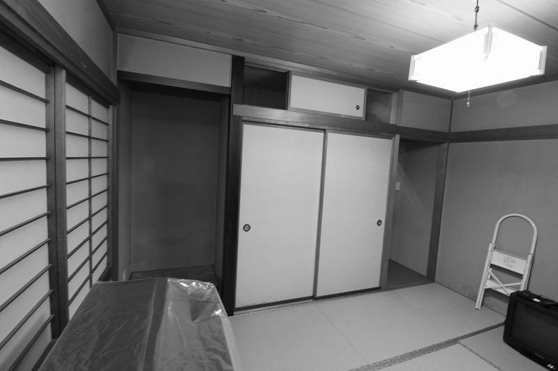 和室とリビングつなげて大空間へ(before)