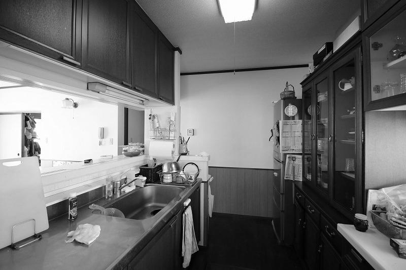 インテリアになるキッチン(before)