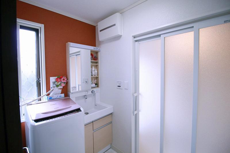 スペースを広げ、使い勝手の良い洗面所へ(after)