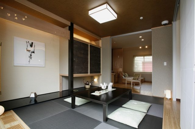 高崎西展示場(ドマーニJX)和室