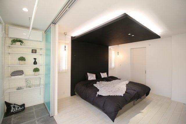 富岡展示場モデルハウス(ドマーニコンファティック)BED ROOM