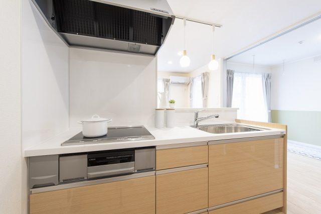 賃貸住宅モデルルーム キッチン