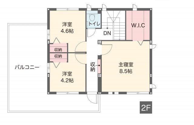 前橋ローズタウン展示棟(スマートパワーステーションGR)間取り(2F)
