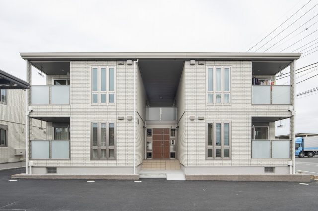 賃貸住宅モデルルーム 外観