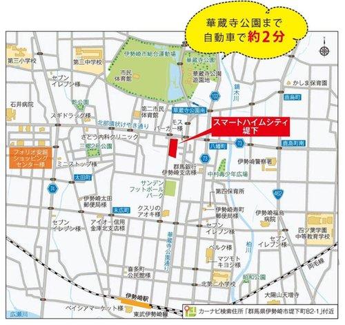 スマートハイムシティ堤下(マップ)