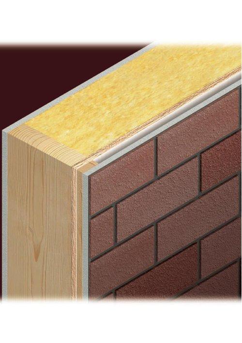 2×6材の分厚い外壁層