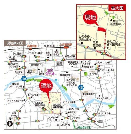 スマートハイムプレイス下高瀬(アクセスマップ)
