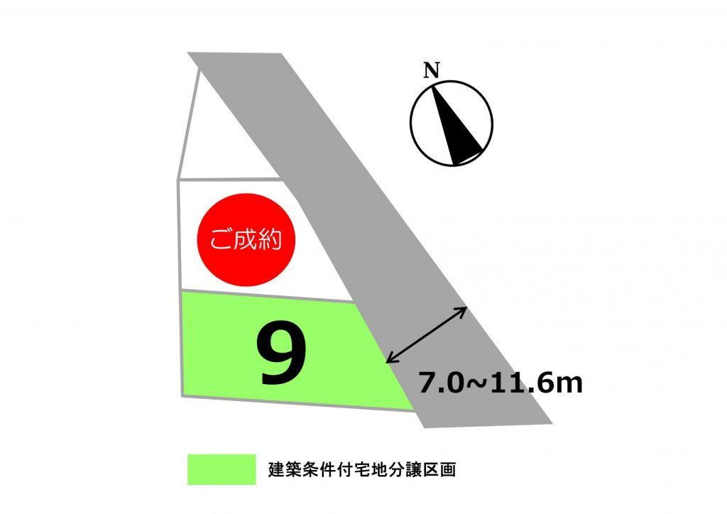 スマートハイムプレイス上里神保原(区画図)