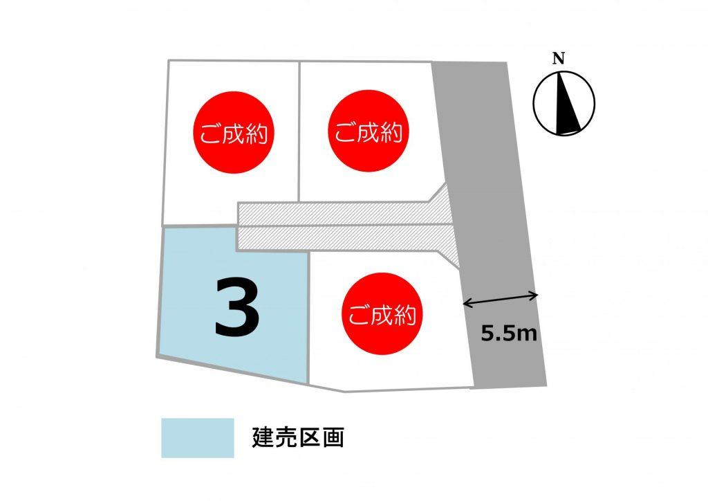 スマートハイムプレイス伊勢崎今泉(区画図)